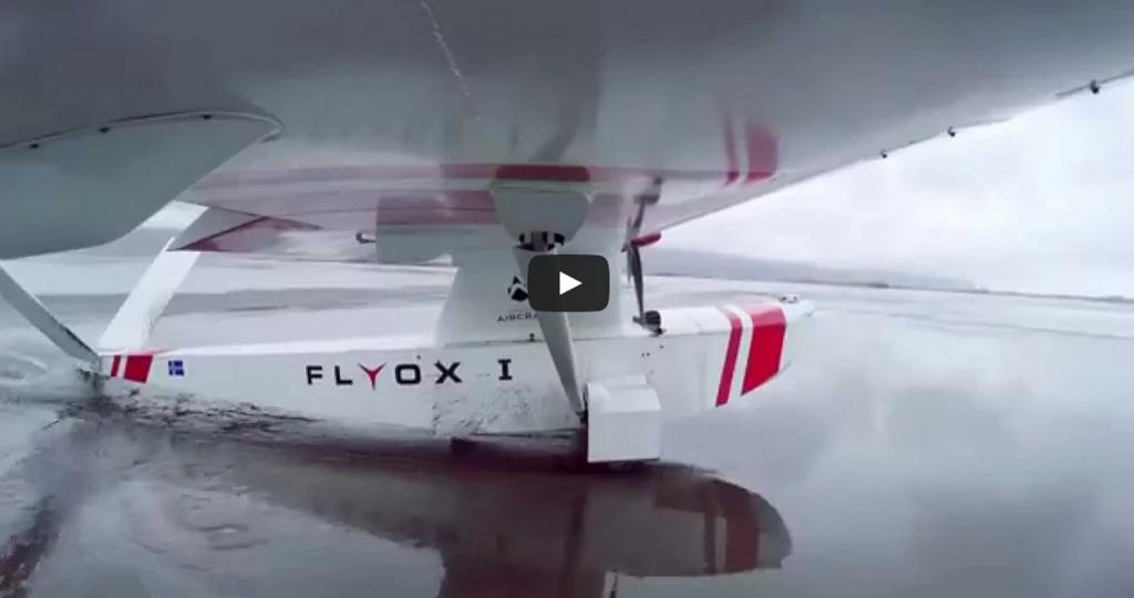 First flight. Flyox I